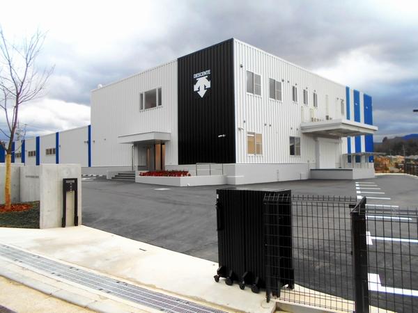 デサント吉野工場新築工事