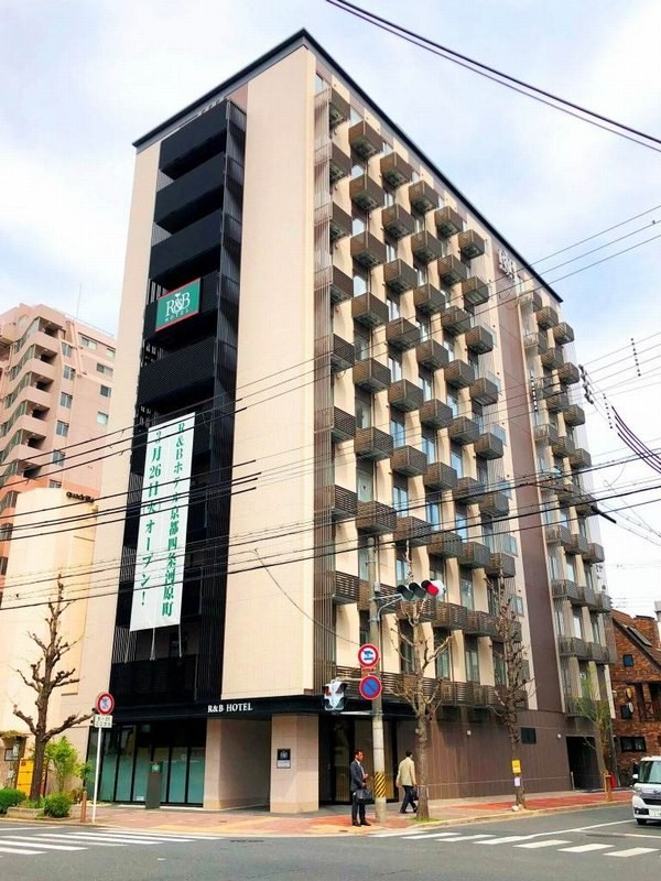 R&Bホテル京都四条河原町新築工事